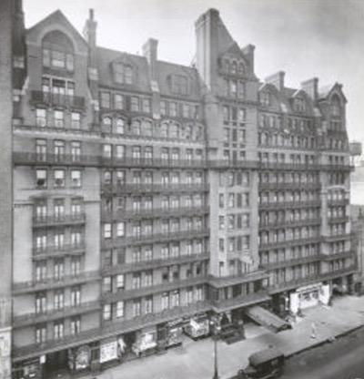 Chelsea Hotel, NYC, circa 1920